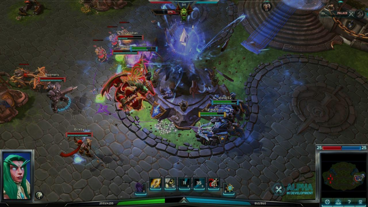 Heroes of the Storm Hero Stay alive