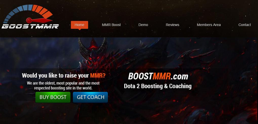 BoostMMR Dota2 boosting company